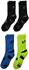 Under Armour Boys HeatGear Crew Socks