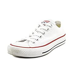 Converse Chuck Taylor All Star Ox Low Skate Shoes - Optical White-7.5