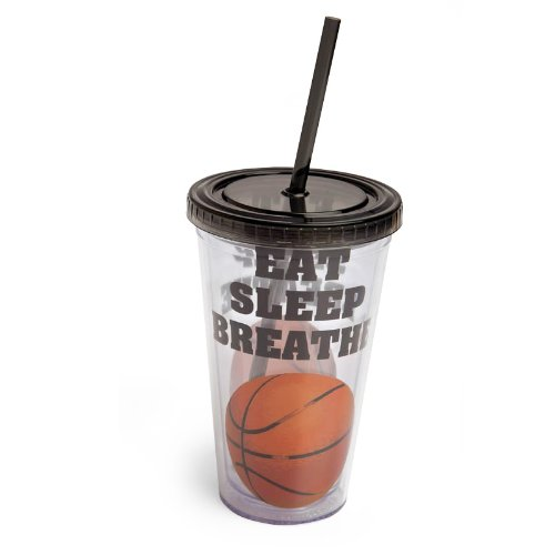 Insulated Cup With Straw front-98763
