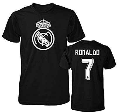 Smart Zone FC Real Madrid Shirt Cristiano Ronaldo Men's T- Shirt