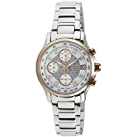 Casio Sheen Tachymeter Chronograph Multi-Color Dial Women's Watch - SHN-5016D-7ADR (SX007)