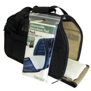 Pet Pads Disposable Absorbent Pet Carrier Pads Dog Carrier Cat Carrier Pee Pad Recommended by Airlines & AAA {Pad Size,20