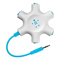 Belkin Rockstar Multi Headphone Splitter (Blue)