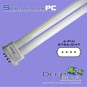 Deep Blue Professional ADB43236 Power Compact Lamp/Light Act 03 Straight Pin for Aquarium, 36-watt