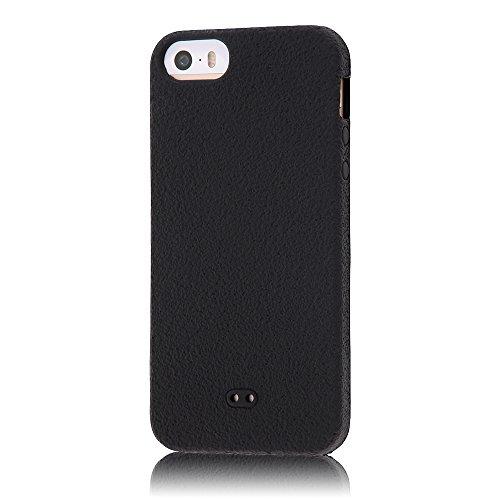 レイ・アウト iPhone SE/5s/5 スリップガード・シリコンジャケット/ブラックRT-P5C2/B