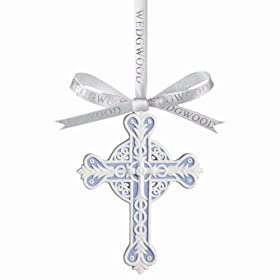 Wedgwood Traditional Figural Cross Ornament