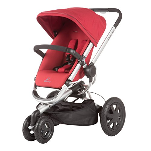 Quinny Buzz Xtra Pushchair In Purple Pace With Maxi Cosi: 2013 Quinny Buzz Xtra Stroller, Red Rumor