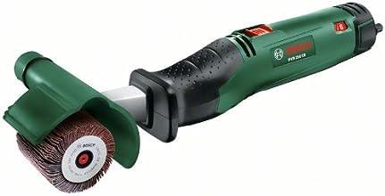Bosch PRR 250 ES HomeSeries Schleifroller + 60mm Schleifhülse + 60mm Lamellenrolle + 10mm Lamellenrolle (250W, SDS-System)