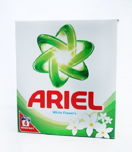 Ariel Washing Powder White Flowers 4 Washes Per Box Travel Size (Pack of 2)