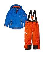 Peak Mountain Mono de Esquí Ecosmic (Azul / Naranja)