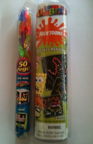 lite-brite-nickelodeon-nick-nicktoons-refill-set-by-hasbro