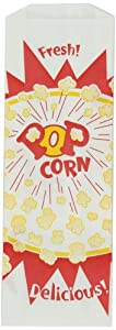 2 oz. Jumbo Popcorn Bag, Burst Design, 1000 per Case