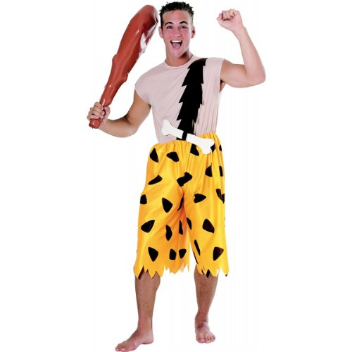 Bamm-Bamm Rubble Costume - X-Large - Chest Size 44-46