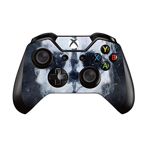Mod Freakz Xbox One Controller Pair of Vinyl Decal Skins Military Ghost Killer (Call Of Duty Xbox One Controller compare prices)