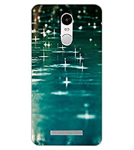 ColourCraft Rain Fall Design Back Case Cover for XIAOMI REDMI NOTE 3
