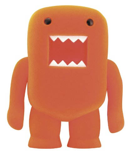 "4"" Domo Flocked Vinyl Figure: Orange Soda"