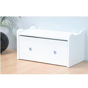 2in1 sitzbank aufbewahrungstruhe jubee auf rollen. Black Bedroom Furniture Sets. Home Design Ideas