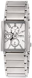 Timex E-Class Analog White Dial Mens Watch - RN06