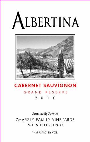 2010 Albertina Cabernet Sauvignon Grand Reserve