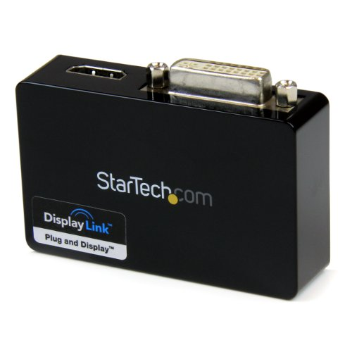 Startech Usb32Hddvii Usb 3.0 To Hdmi And Dvi Dual Monitor External Video Card Adapter front-341962