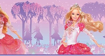 Barbie Princess Peel And Stick Border