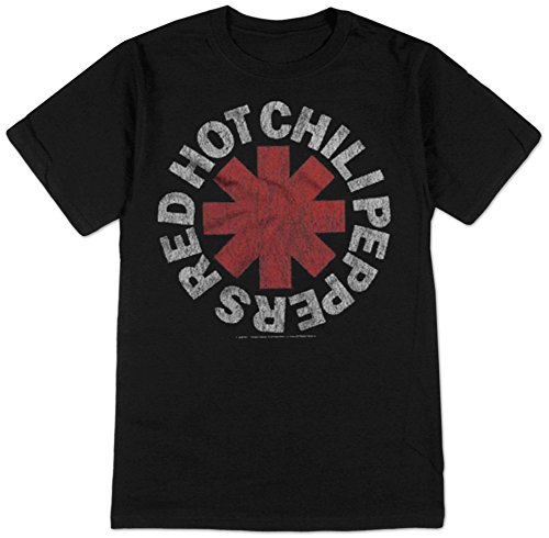 Red Hot Chili Peppers- Vintage Distressed Logo T-Shirt Size XL