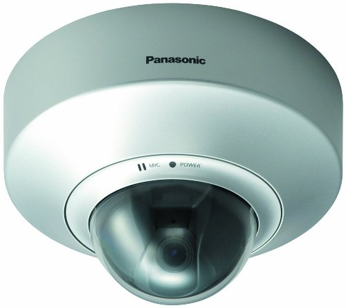 Panasonic BB-HCM547A Power Over Ethernet Dome Ceiling Mount Network Camera with 4.6 Zoom Lens and 73° Wide Viewing Angle