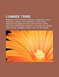 Lumbee tribe: Robeson County, North Carolina, Pembroke