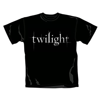 Warner Music Shirts Twilight Logo Men's T-Shirt , Black, Small