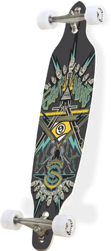 Sector 9 Platinum Series Freemason Complete Longboard - Blue - 39in