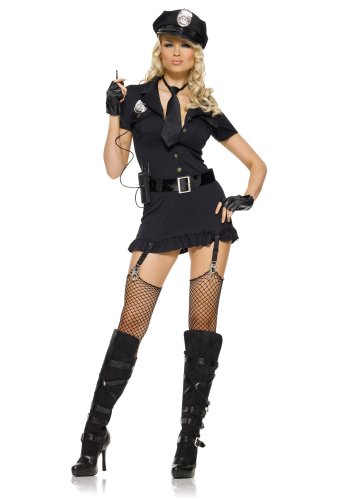 Leg Avenue Women's Cop Costume