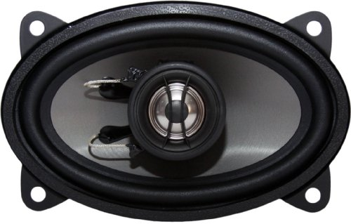 Earthquake Sound T46 Tnt 2-Way Coaxial Speakers - Set Of 2 (Black)