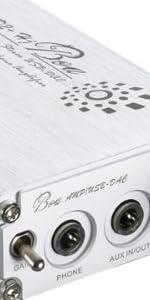 iBasso Audio USB-DACポータブルヘッドホンアンプ (ブラッシュド・シルバー) D2+S Hj Boa