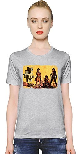 Once Upon A Time In The West T-shirt donna Women T-Shirt Girl Ladies Stylish Fashion Fit Custom Apparel By Slick Stuff Small