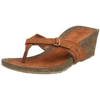 d0b49b394 Teva Womens Ventura Thong Wedge Sandal