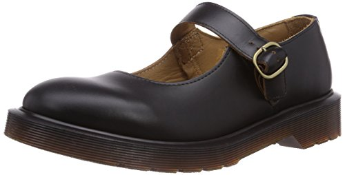 Dr. Martens CORE INDICA VINTAGE SMOOTH BLA, Scarpe Brogue Stringate Unisex Adulto, Nero, 38