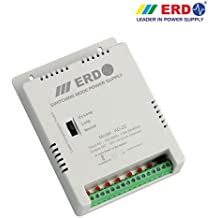 ERD AD-22 8 Channel Power Supply For CCTV Cameras