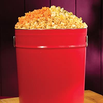 Stew Leonard's - Popcorn Tin - Solid Red