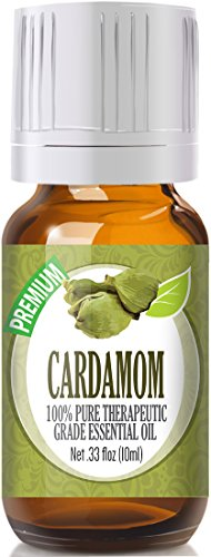 Cardamom 100% Pure, Best Therapeutic Grade Essential Oil - 10ml