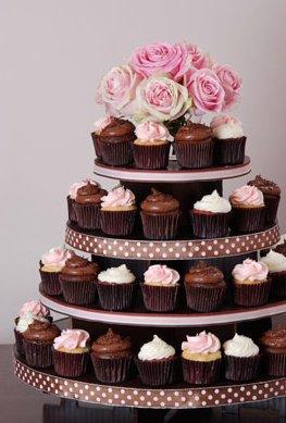 5 Tier Cupcake Tower