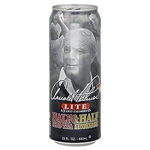 Arnold Palmer Lite Half & Half Iced Tea / Lemonade 23-oz. Cans (Pack of 6)
