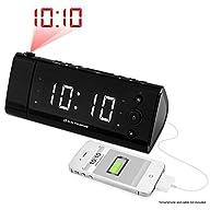 Electrohome� USB Charging Alarm Clock…