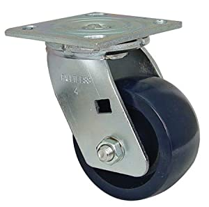 Shepherd NFC-26784 Swivel Plate Caster Faultless Caster, Medium Duty