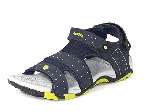 Lotto Men's Sandal Shark Navy Grey GT7069 UK/IN 8