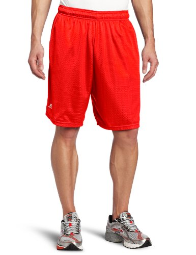 Russell Athletic Men's Mesh Pocket Short, True Red, 3X-Large (Big And Tall Shorts compare prices)