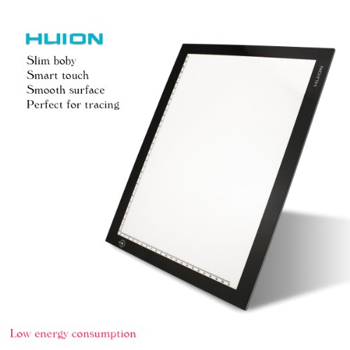 Huion 17.72 Inches Only 5mm Ultra-thin USB Tracing Light Box
