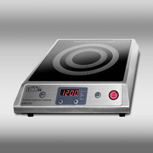Summit Appliance SINCFS1 Induction Cooktop  Stainless