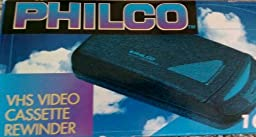 Philco #100K VHS Video Cassette Rewinder