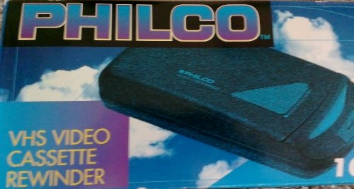 Philco #100K VHS Video Cassette Rewinder