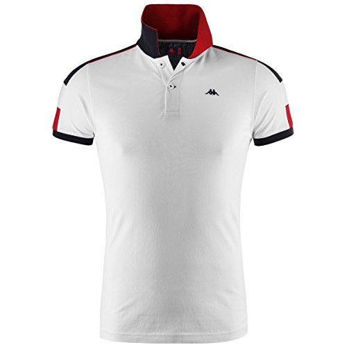 Polo Shirts - Zachely - White-Navy - M